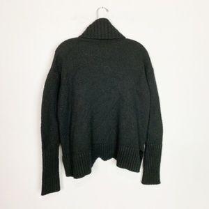 Anthropologie Moth | turtleneck knit sweater black